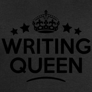 writing queen keep calm style WOMENS T-SHIRT - Men's Sweatshirt by Stanley & Stella
