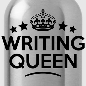 writing queen keep calm style WOMENS T-SHIRT - Water Bottle
