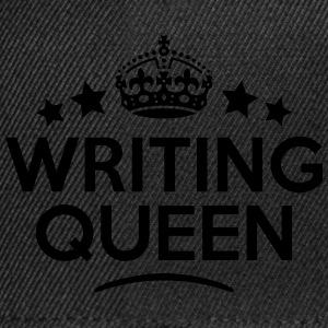writing queen keep calm style WOMENS T-SHIRT - Snapback Cap