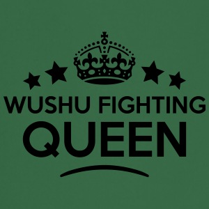 wushu fighting queen keep calm style cop WOMENS T- - Cooking Apron