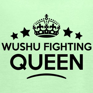 wushu fighting queen keep calm style cop WOMENS T- - Women's Tank Top by Bella