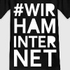 Wir Ham Internet T-Shirts - Teenager T-Shirt