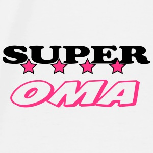 Super oma Mugs & Drinkware - Men's Premium T-Shirt