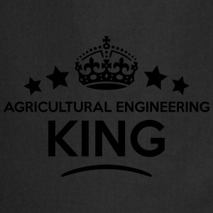 agricultural engineering king keep calm  T-SHIRT - Cooking Apron