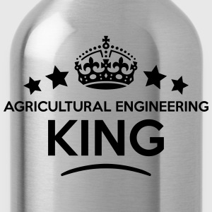 agricultural engineering king keep calm  T-SHIRT - Water Bottle