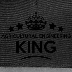 agricultural engineering king keep calm  T-SHIRT - Snapback Cap