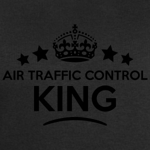 air traffic control king keep calm style T-SHIRT - Men's Sweatshirt by Stanley & Stella