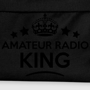 amateur radio king keep calm style crown T-SHIRT - Kids' Backpack