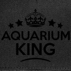 aquarium king keep calm style crown star T-SHIRT - Snapback Cap