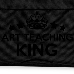 art teaching king keep calm style crown  T-SHIRT - Kids' Backpack