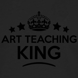 art teaching king keep calm style crown  T-SHIRT - Men's Premium Longsleeve Shirt