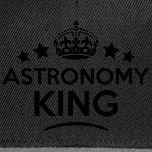astronomy king keep calm style crown sta T-SHIRT - Snapback Cap