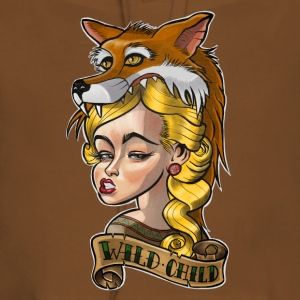 Wild Child Tattoo / Tatuering T-shirts - Premiumluvtröja dam