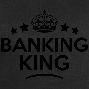 banking king keep calm style crown stars T-SHIRT - Men's Sweatshirt by Stanley & Stella