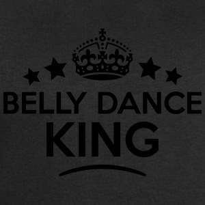 belly dance king keep calm style crown s T-SHIRT - Men's Sweatshirt by Stanley & Stella