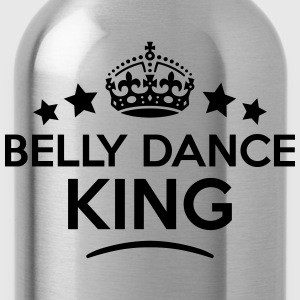 belly dance king keep calm style crown s T-SHIRT - Water Bottle