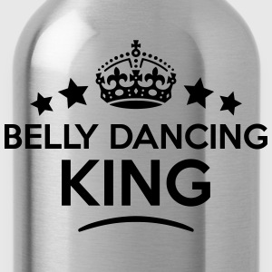belly dancing king keep calm style crown T-SHIRT - Water Bottle