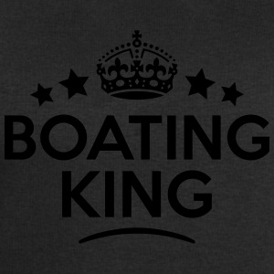 boating king keep calm style crown stars T-SHIRT - Men's Sweatshirt by Stanley & Stella