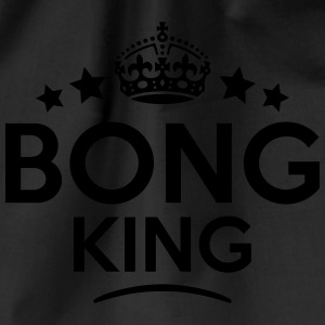 bong king keep calm style crown stars T-SHIRT - Drawstring Bag
