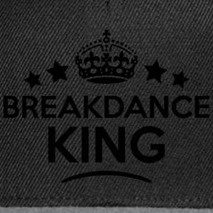 breakdance king keep calm style crown st T-SHIRT - Snapback Cap