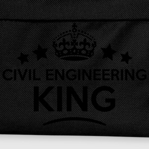 civil engineering king keep calm style c T-SHIRT - Kids' Backpack