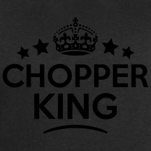 chopper king keep calm style crown stars T-SHIRT - Men's Sweatshirt by Stanley & Stella