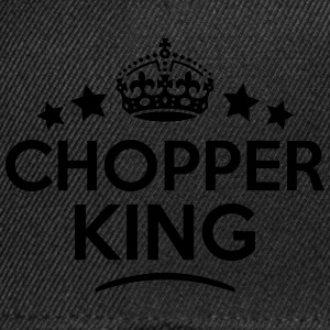 chopper king keep calm style crown stars T-SHIRT - Snapback Cap