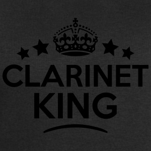 clarinet king keep calm style crown star T-SHIRT - Men's Sweatshirt by Stanley & Stella