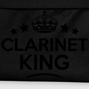 clarinet king keep calm style crown star T-SHIRT - Kids' Backpack