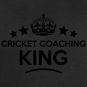 cricket coaching king keep calm style cr T-SHIRT - Men's Sweatshirt by Stanley & Stella