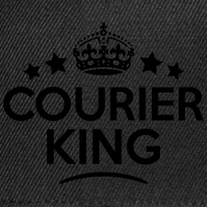courier king keep calm style crown stars T-SHIRT - Snapback Cap