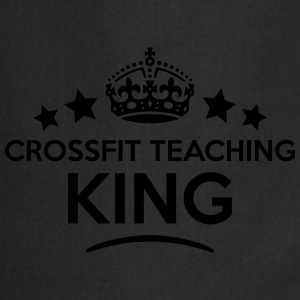 crossfit teaching king keep calm style c T-SHIRT - Cooking Apron