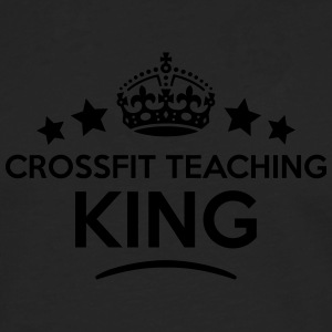 crossfit teaching king keep calm style c T-SHIRT - Men's Premium Longsleeve Shirt