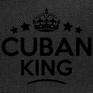 cuban  king keep calm style crown stars T-SHIRT - Snapback Cap