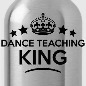 dance teaching king keep calm style crow T-SHIRT - Water Bottle