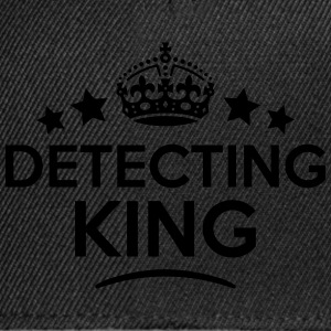 detecting king keep calm style crown sta T-SHIRT - Snapback Cap