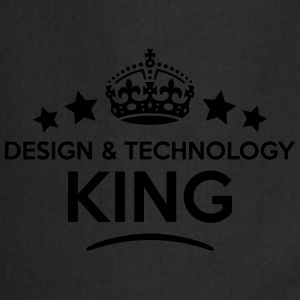 design  technology king keep calm style  T-SHIRT - Cooking Apron