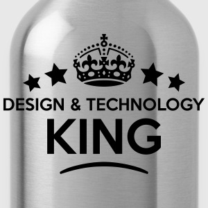 design  technology king keep calm style  T-SHIRT - Water Bottle