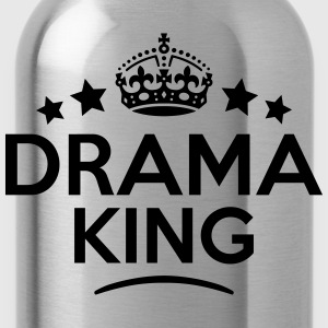 drama king keep calm style crown stars T-SHIRT - Water Bottle