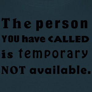 the person you have called Delantales - Camiseta hombre