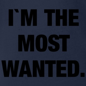 I`m the most wanted Langarmshirts - Baby Bio-Kurzarm-Body