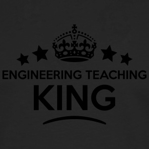 engineering teaching king keep calm styl T-SHIRT - Men's Premium Longsleeve Shirt