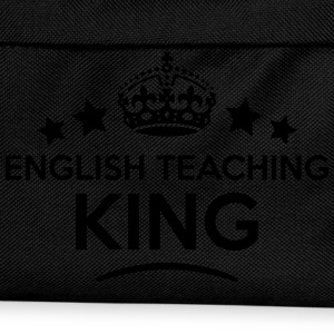 english teaching king keep calm style cr T-SHIRT - Kids' Backpack