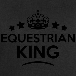 equestrian king keep calm style crown st T-SHIRT - Men's Sweatshirt by Stanley & Stella