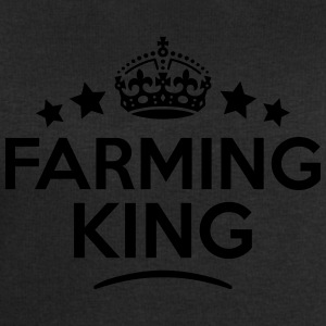 farming king keep calm style crown stars T-SHIRT - Men's Sweatshirt by Stanley & Stella
