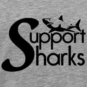 Support Sharks - Men's Premium T-Shirt