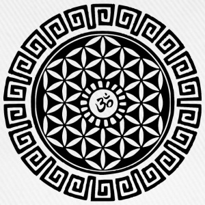 Om Flower of Life Long Sleeve Shirts - Baseball Cap