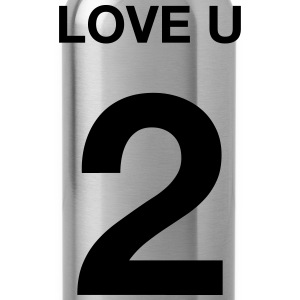 love you 2 Pullover & Hoodies - Trinkflasche