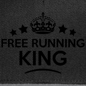 free running king keep calm style crown  T-SHIRT - Snapback Cap