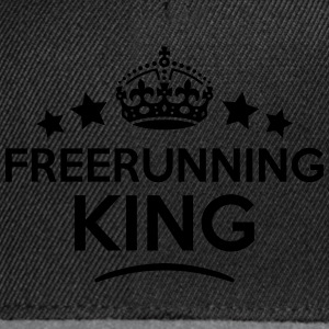 freerunning king keep calm style crown s T-SHIRT - Snapback Cap